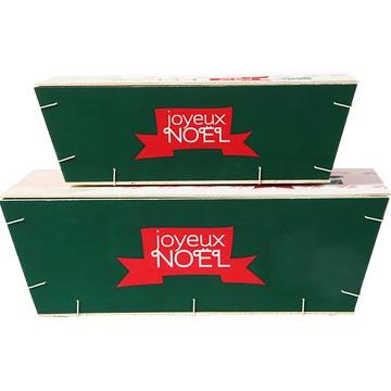 Packagings bois en 3 et 5 kg