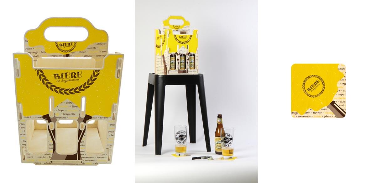 casier à bouteille de bières