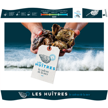 Couvercle huîtres