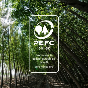 Blanchet - PEFC certified wood